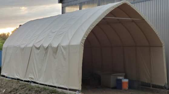 Custom dome shelter cover