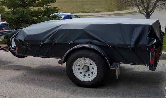 Heavy duty trailer tarp - Calgary Alberta