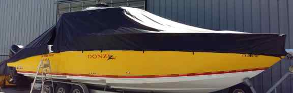 Custom boat covers - waterproof