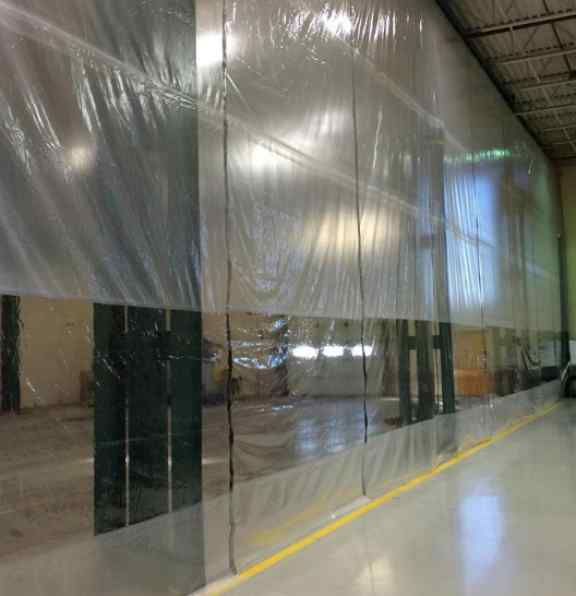 Factory room dividers