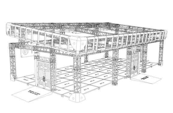 Fantastic Beasts Premier - Frame structure