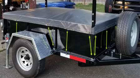 Utility Trailer Cover Ideas