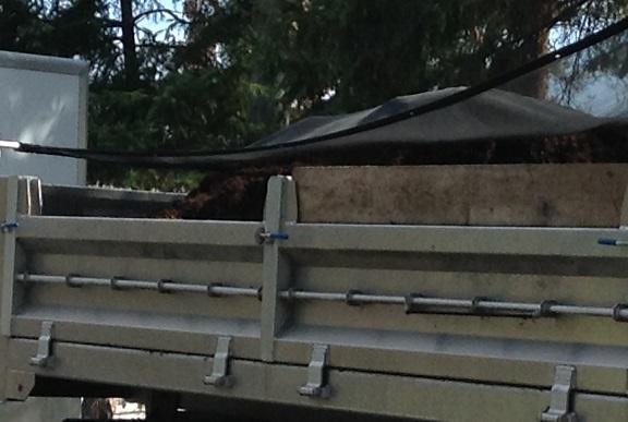 Landscaper tarps