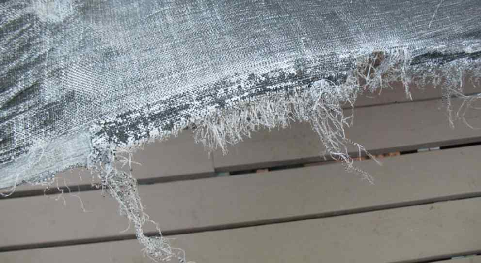 Cheap shredded tarp