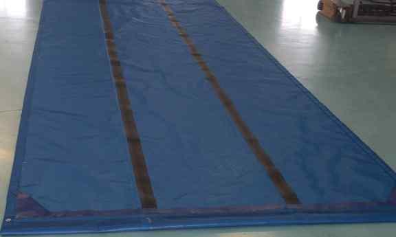Reinforced roll tarp