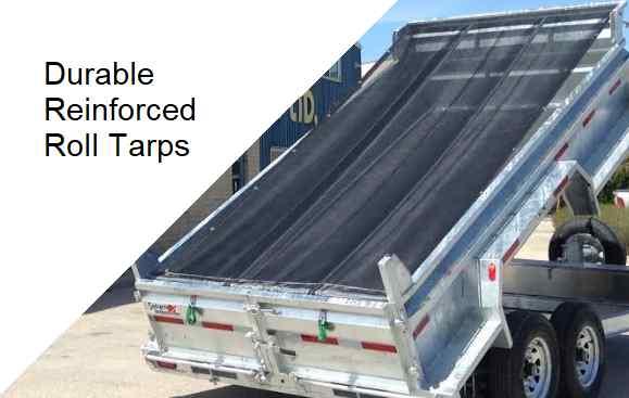 Standard roll tarp made from 60% mesh
