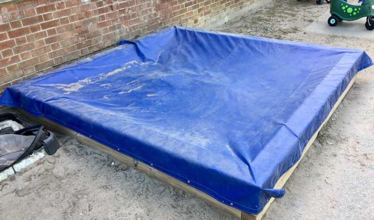 Sandbox tarps