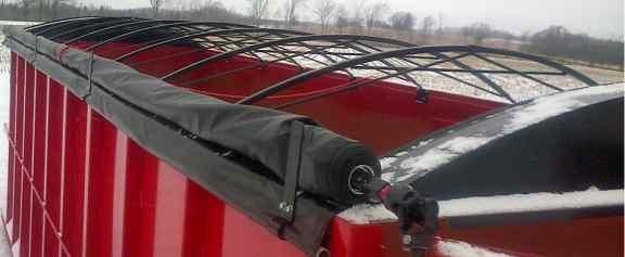 Side roller tarps