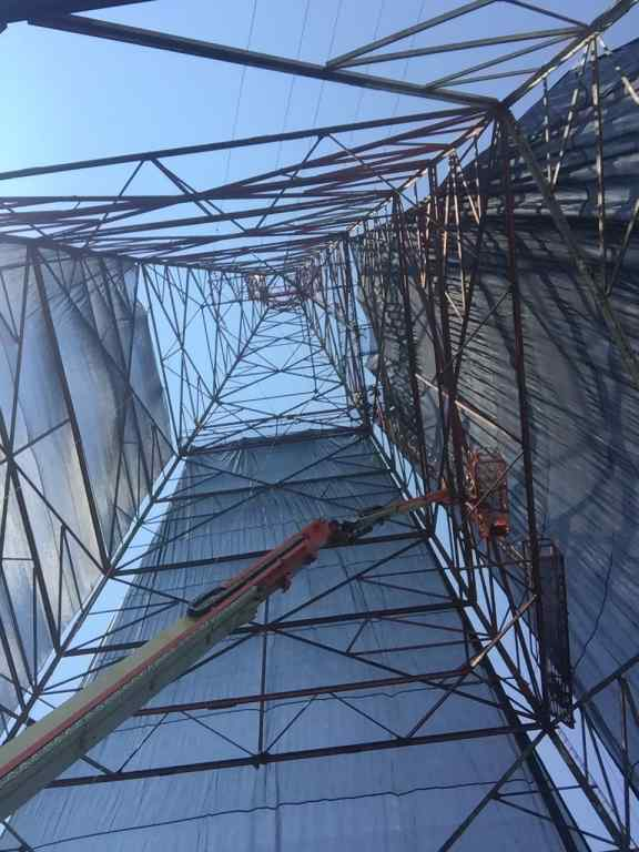 Transmission Tower Wrap