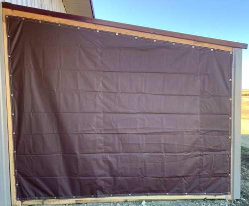 Trapezoid shaped tarp