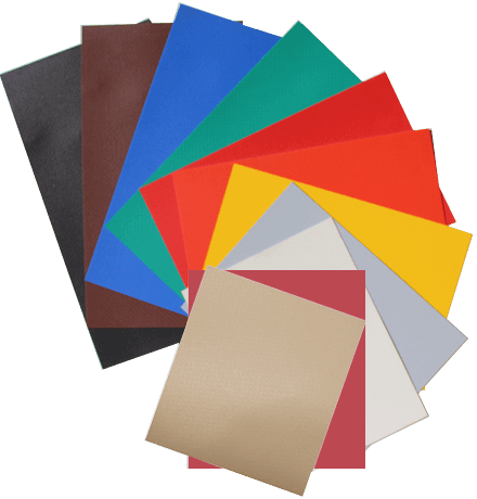 Vinyl tarp colors
