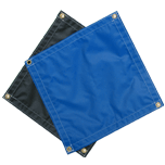 Heavy duty waterproof vinyl tarp